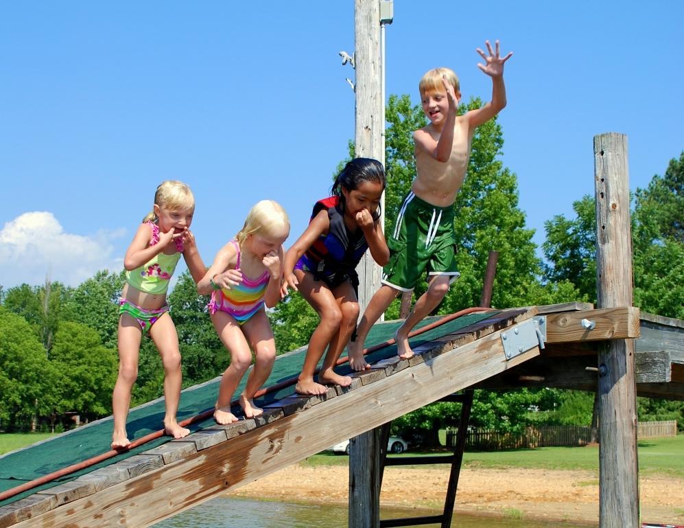 Hochseilgarten für Kids